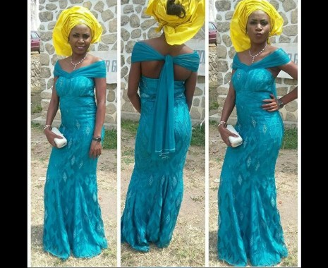 10 Latest Aso Ebi Styles - This Weekend amillionstyles.com @ben_yummie