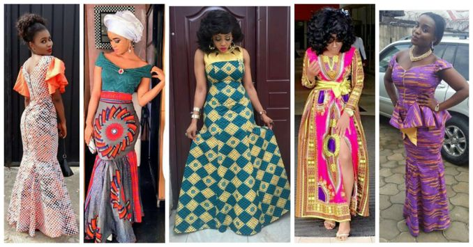 10 So Classic and Chic Ankara Collections amillionstyles.com 2016