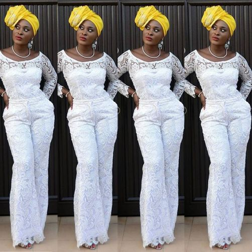 15 Outstanding Jumpsuit Styles That'll Wow You- Amillionstyles.com @jumokeraji