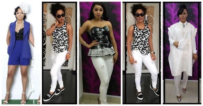 Vlogger and Fashion Enthusiast Toke Makinwa amillionstyles