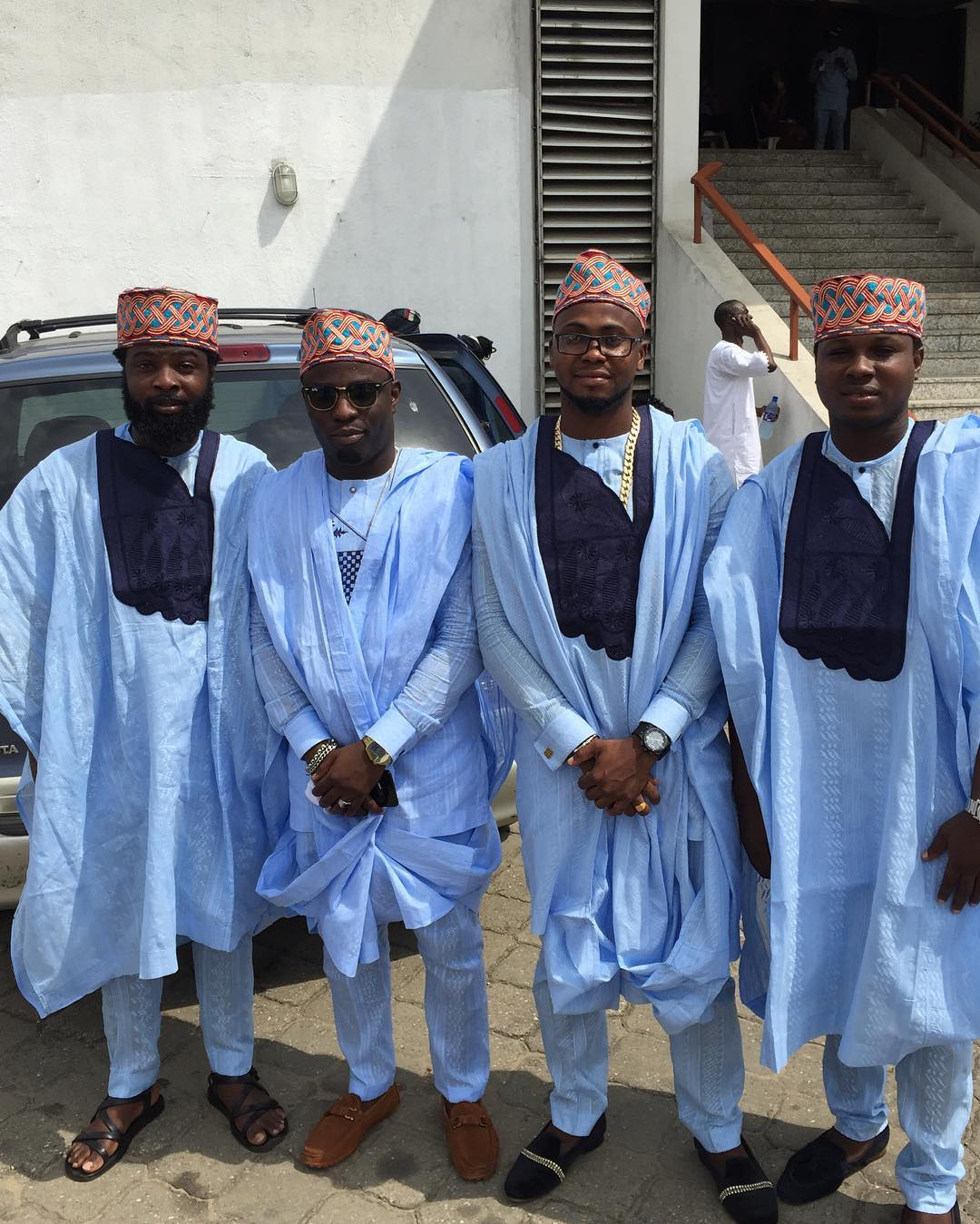 Yoruba Demon Outstanding Agbada Styles Amillionstyles Com