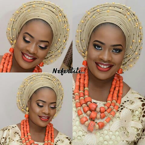 Amazing Traditional Bridal Looks amillionstyles.com @bolalittlenefertiti