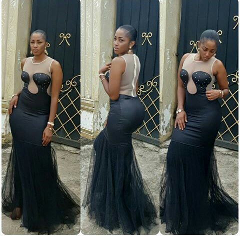 Stunning Dinner Gown You Should Try On - Amillionstyles @iam_princessdemi