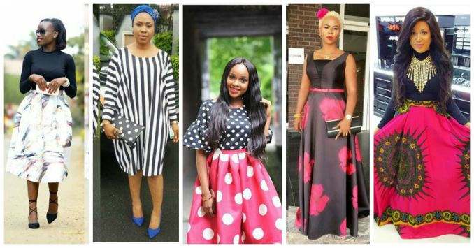Amazing Polka Dots Prints And Patterned Outfit amillionstyles