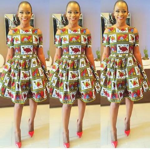 Classy Ankara Dresses - amillionstyles @iamnini1