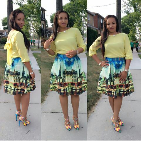 Amazing Polka Dots Prints And Patterned Outfit amillionstyles @cofor9-