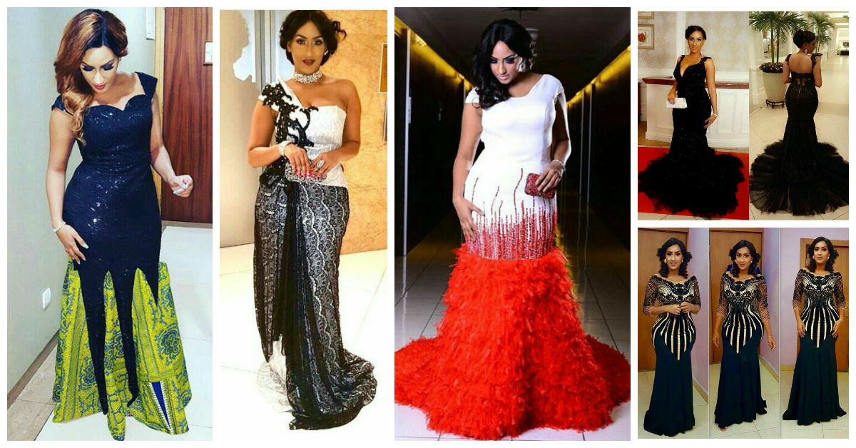 WCW Juliet Ibrahim's Eye Catching Gown Collections