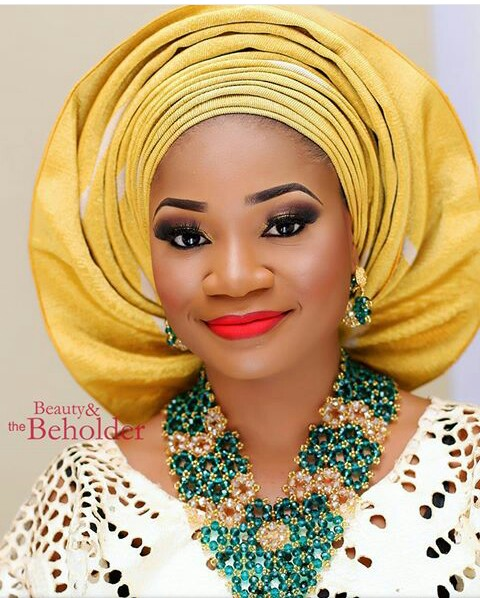 10 Lovely Traditional Bridal Makeup Looks amillionstyles @beautyandthebeholdermakeover