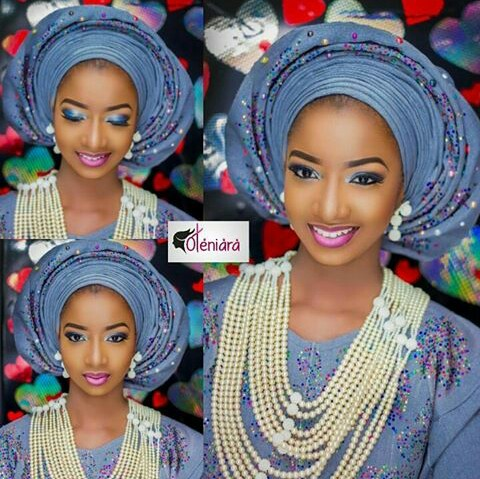 10 Lovely Traditional Bridal Makeup Looks amillionstyles @oteniaramakeovers