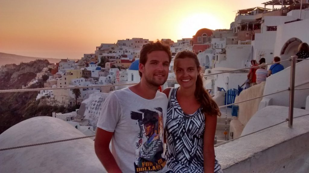 Our summer in the amazing Santorini