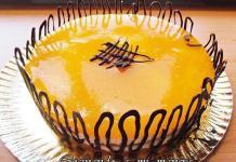 tarta de melocoton