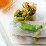 Vegan Spring Rolls: Step-by-step instructions on how to EASILY make your own Spring Rolls at home that are filled with a delicious medley of lightly sauteed veggies and skip the take-out! #EastMadeEasy