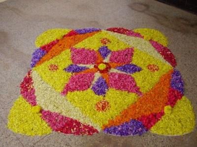 Latest Rangoli Designs Flower Patterns Festival Rangoli