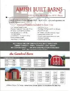Amish Built Barns