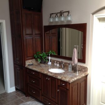 Bathroom cabinets amish cabinets of texas austin houston Bathroom vanities houston tx