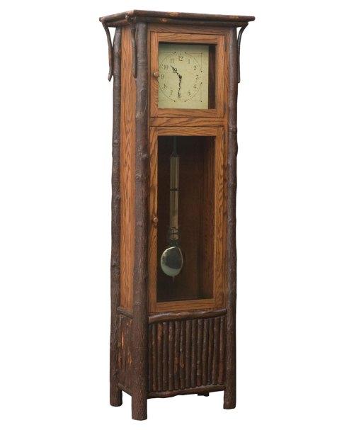 Medium Of Grandfather Clock In Living Room