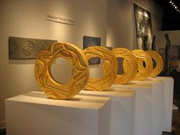 Cinco Soles, 2009 (Exhibit Image) Francisco Pancho Jiménez Slab-built stoneware with glaze Courtesy of the artist
