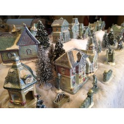Small Crop Of Christmas Village Sets