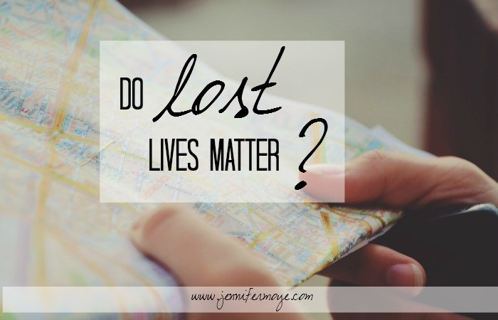 Do Lost Lives Matter? – Jesus & Coffee Linkup