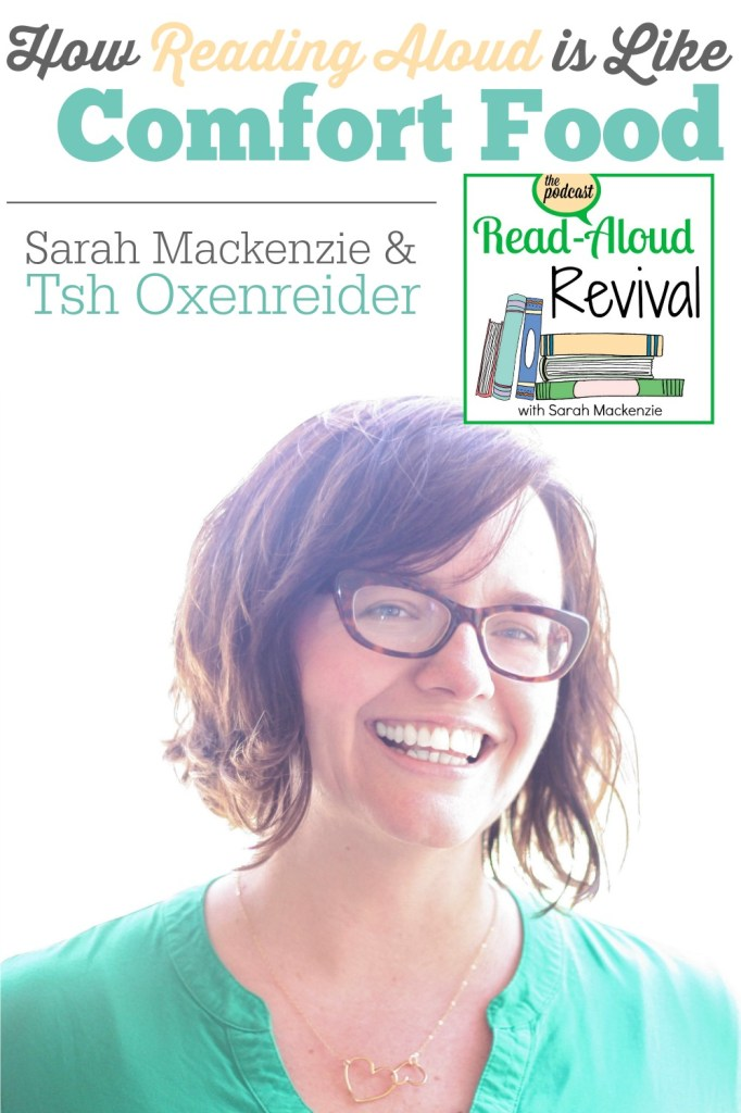 Reading aloud isn't just good for our children's academic scores. It's also good for their souls. Listen in to this encouraging episode of the Read-Aloud Revival Podcast.