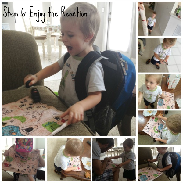How to create a children's treasure map!