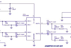 1 Watt Stereo Audio Amplifier based IC KA2209