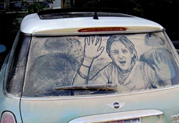 Dirty-Car-Woman