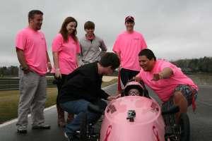 Decatur High Students at Barber Motorsports Park.