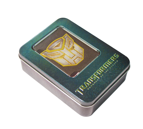 Transformers USB in Tin