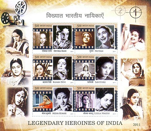 Indian cinema on stamps - Let's talk about Bollywood! (5/5)