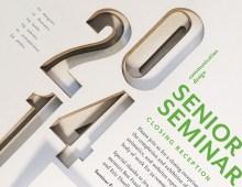 Senior Seminar Reception Poster