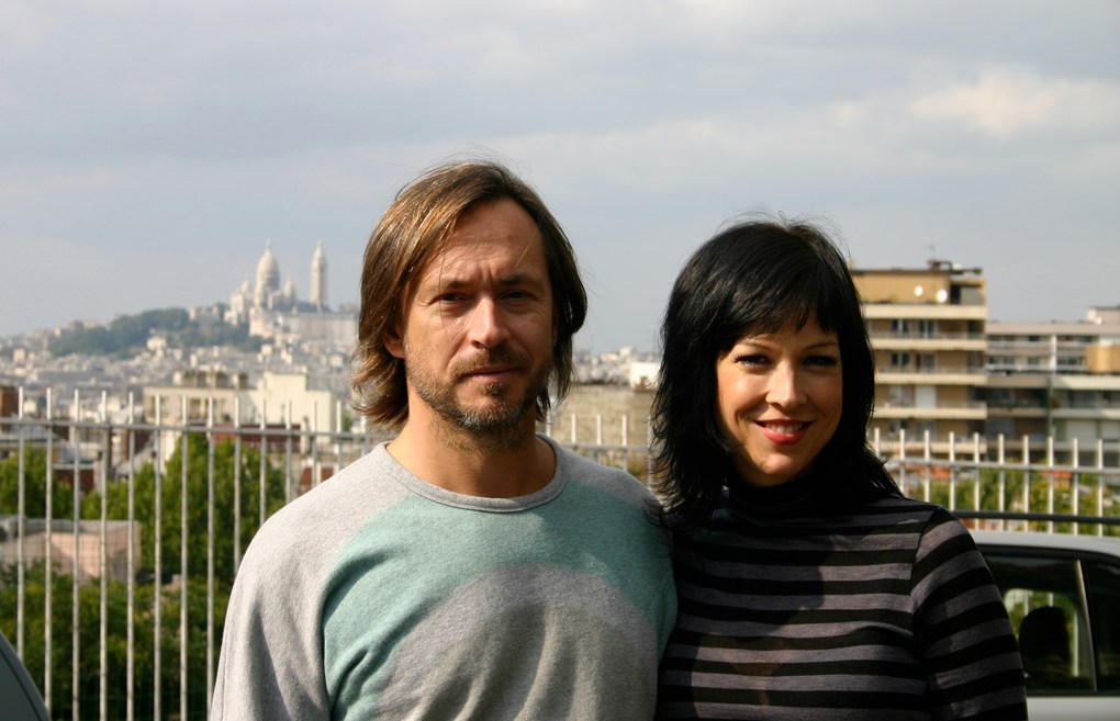 Marc Newson and Amy Devers
