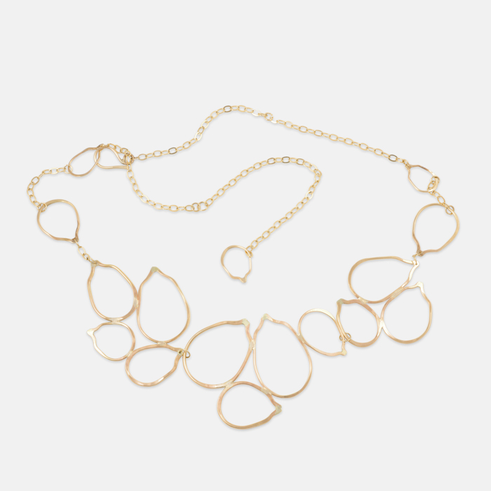 Cassia-Necklace-Gold