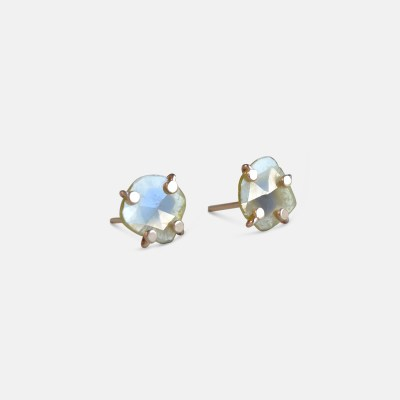 Amy Nordstrom - 14k Diamond Slice Studs
