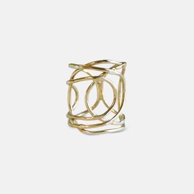 Amy Nordstrom - 14k Goldfilled Lattice Ring