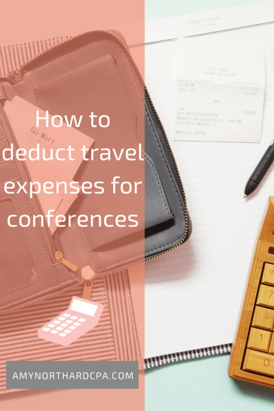 Business Travel Deductions & Tips - Amy Northard, CPA - The Accountant for Creatives®