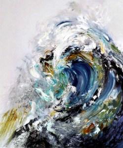Painting by Maggi Hambling