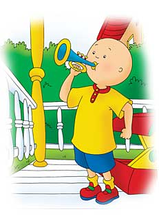 Truth in Parenting: I'm Jealous of Caillou (1/6)