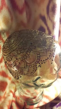henna crown practice 3