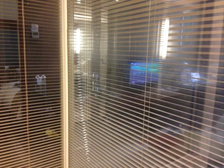 """The showers in western hotels have glass walls (so you can """"watch tv"""" I guess?)"""