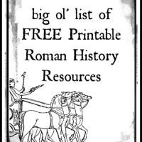 Roman History Printable Resources
