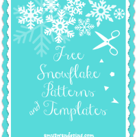 Free Snowflake Patterns & Templates