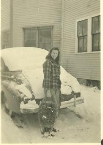 RWW_returning_from_honeymoon_1942