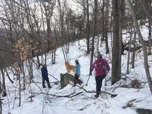 Peabody hike crew