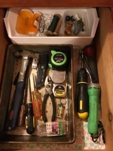 TU tool drawer