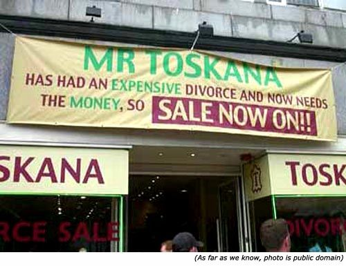 Sale for divorce