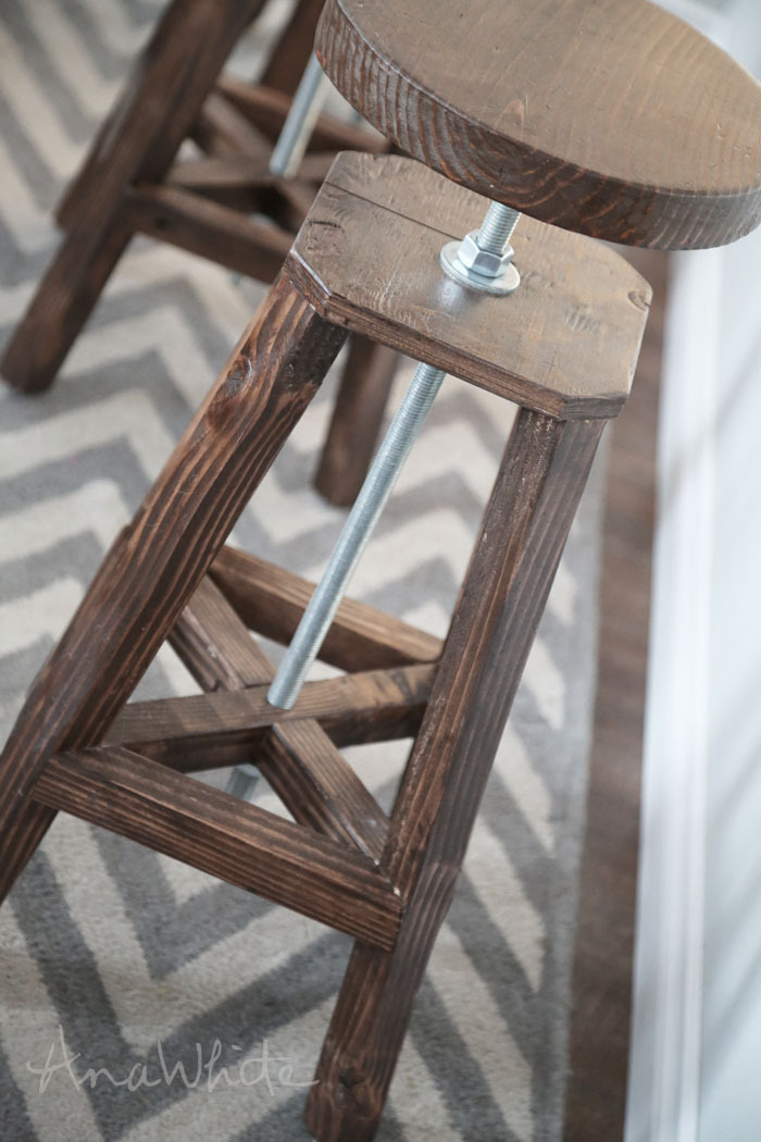 We Used Scrap Wood Including 34 Build Your Own Bar Stools T41
