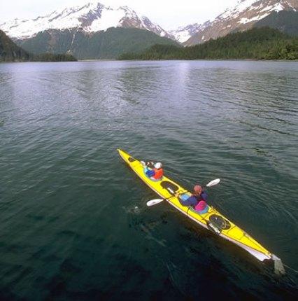 Heading towards the Narrows and Port Valdez