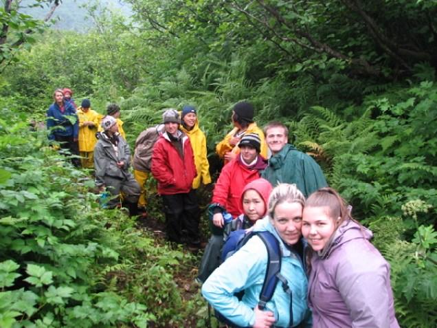 Hiking Towards Shoup Pass