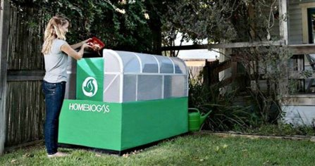 HomeBiogas, home biogas units, renewable energy, organic waste, home biogas project, green design, sustainable design, waste recovery, food waste energy, organic fertilizer, clean-burning fuel, organic liquid fertilizer, israeli startup biogas, clean energy, compost energy